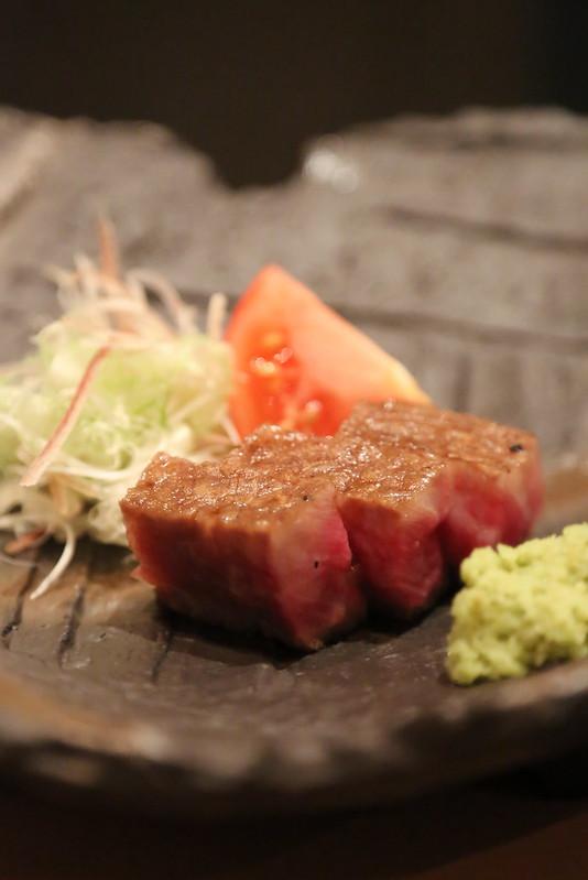 Charcoal Grilled Toriyama Wagyu Beef