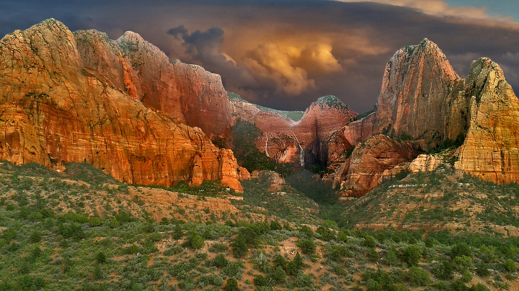 Kolob Canyon in Zion NP 20140920_151733i