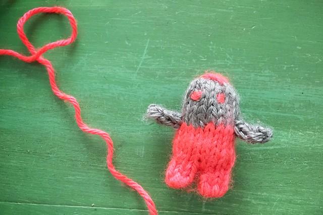 Human Bean Catnip Toy