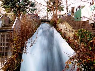 Edessa's small waterfall (Greece)