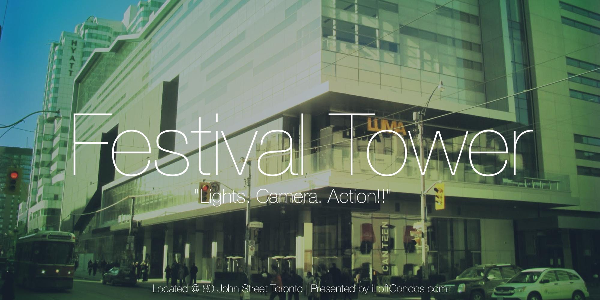 Fesitval Tower - 80 John Street Toronto