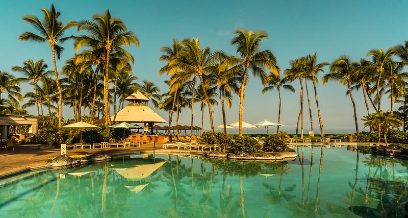 Poolside, Big Island
