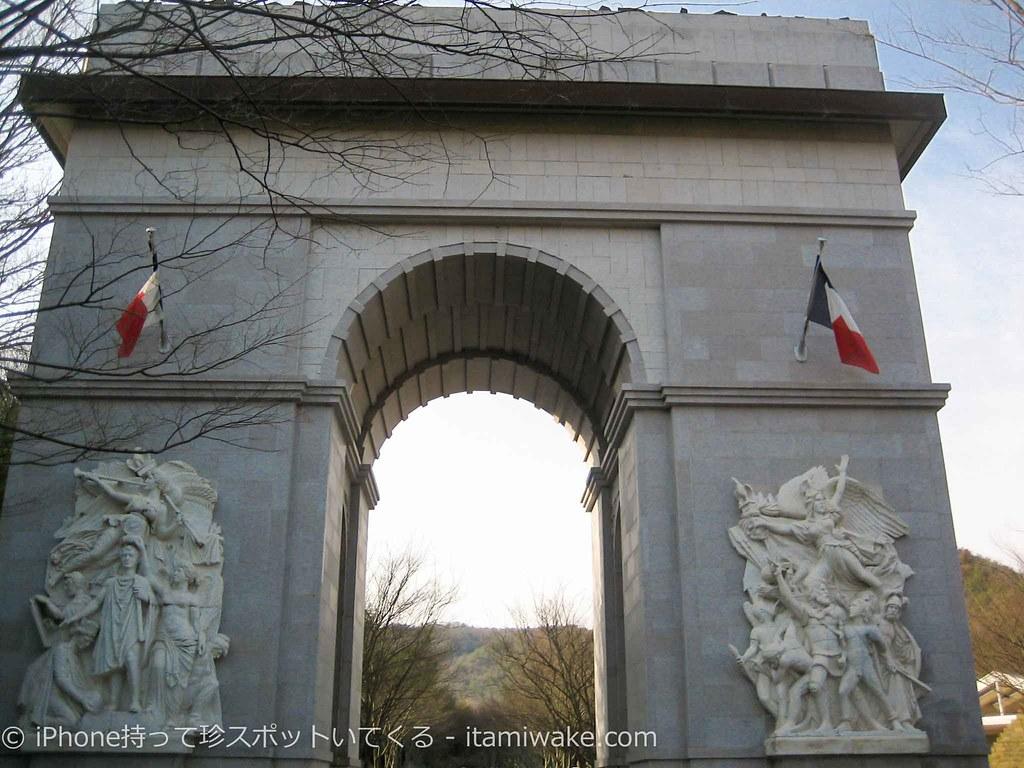 凱旋門のレプリカ