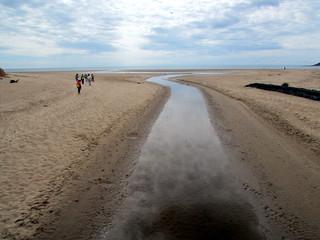 Image of Sandy beach. walescoastpath