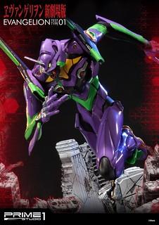 Prime 1 Studio 《新世纪福音战士》新劇場版 初號機 ヱヴァンゲリヲン新劇場版 汎用ヒト型決戦兵器 人造人間 エヴァンゲリオン 初号機 EX版