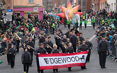 The Edgewood Marching Mustangs [St. Patricks Day Parade In Dublin - 2017]-126087