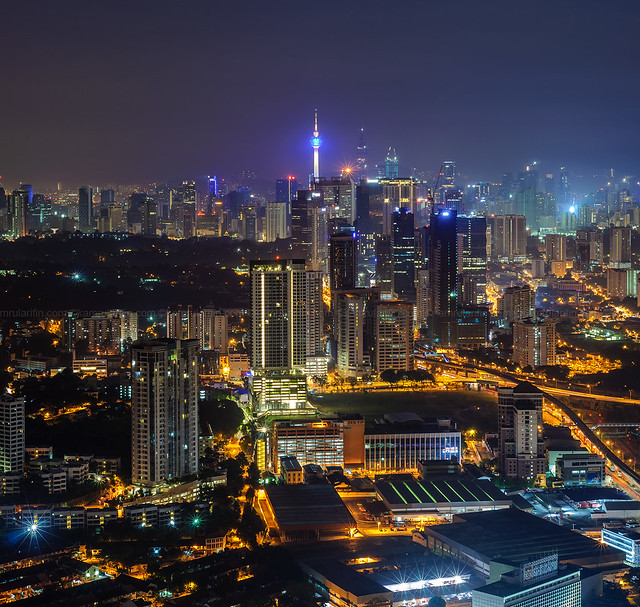 KL City Nightscape