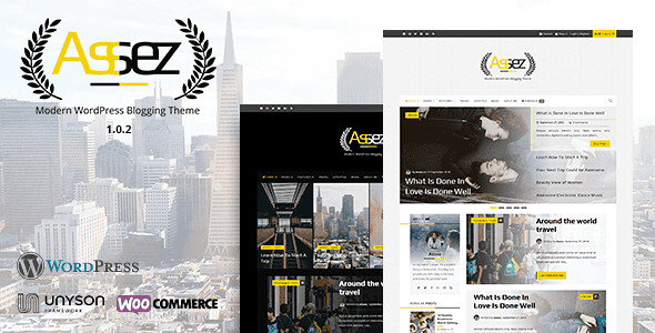 Assez WordPress Theme free download