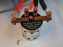Bristol Hackspace: Standard Resistor