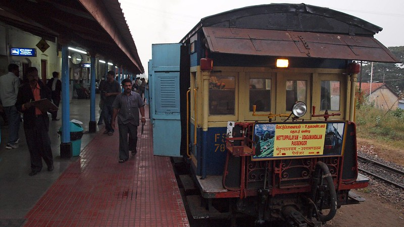 Nilgiri Mountain Train, Tamil Nadu, INDIA, January 2013
