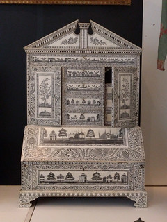 ivory cabinet from India