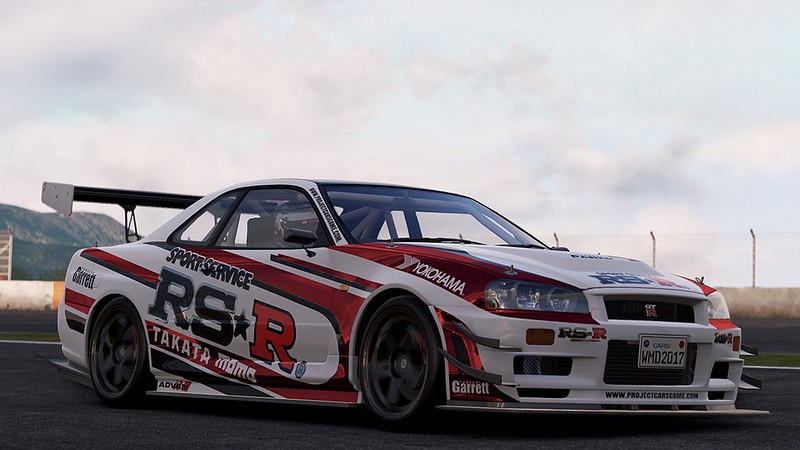Project CARS Nissan GT-R