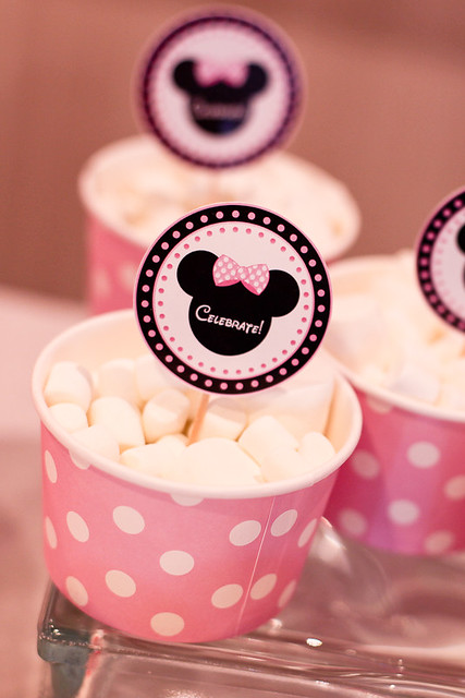 Minnie Mouse Marshmallows