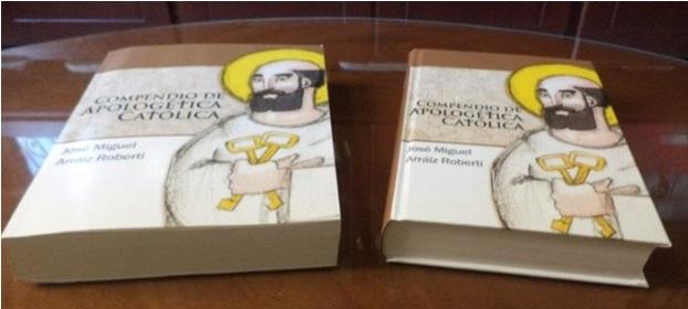Tapa blanda y tapa dura del Compendio de Apologética Católica