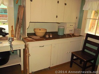 The kitchen at Holzwarth Historic Site, Rocky Mountain National Park, Colorado