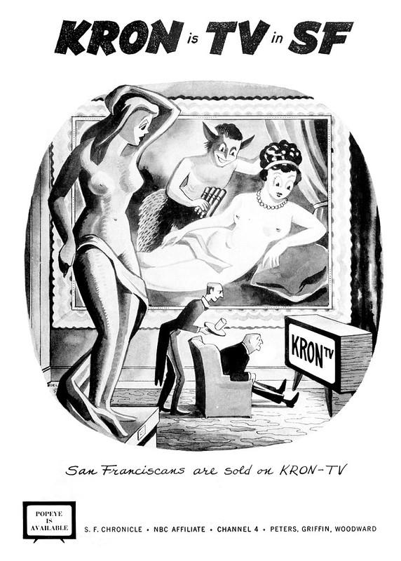 KRON - San Francisco, California U.S.A. - 1956