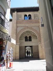 Alcaiceria marketplace & Corral del Carbon - Granada, Spain