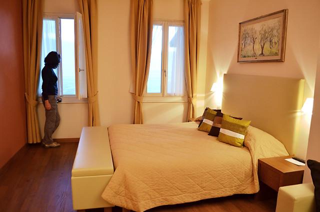 Bedroom, Hotel Baia d'Oro, Gargnano, Lake Garda, Italy