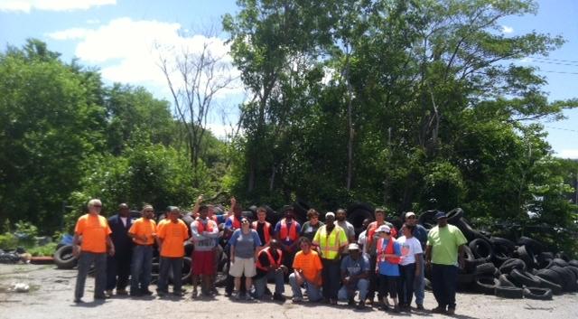 Juniata Waterway Cleanup