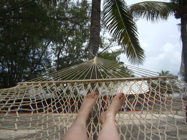 How not to Sit in a Hammock