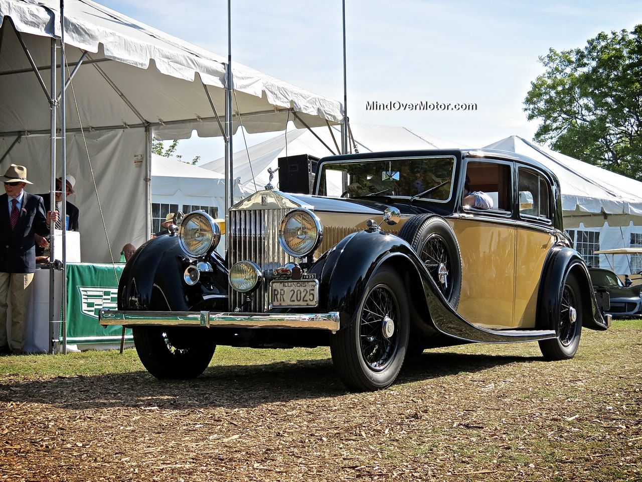 1935 Rolls Royce 20/25 at the Greenwich Concours d'Elegance