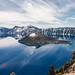 Beautiful Crater Lake, Oregon by lmroweboat