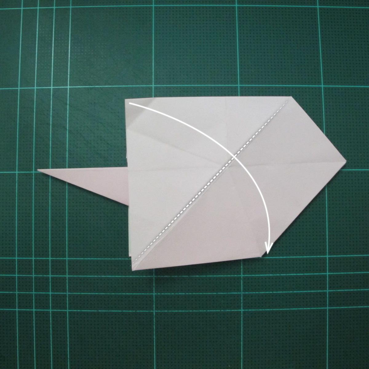 การพับกระดาษเป็นไดโนเสาร์ทีเร็กซ์ (Origami Tyrannosaurus Rex) 015