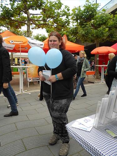 CSD Düsseldorf 2014 Gendertreff Stand 007