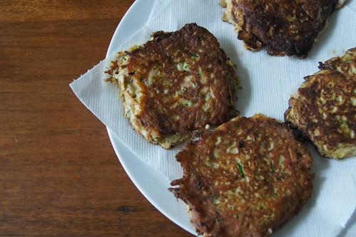 Sweet potato and zucchini fritters DSC08269