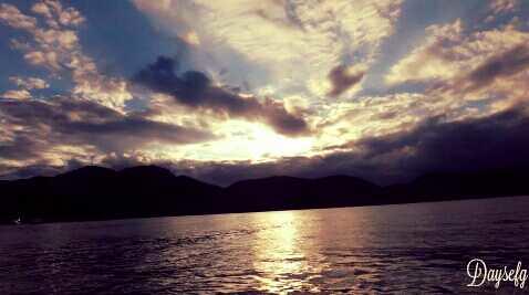 Final de tarde em Ilha Grande - Rio de Janeiro - Brasil