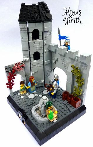 Streets of Minas Tirith