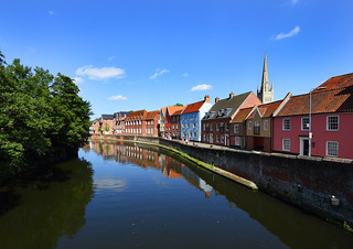 River Wensum Norwich A2 size | by Roger Blackwell