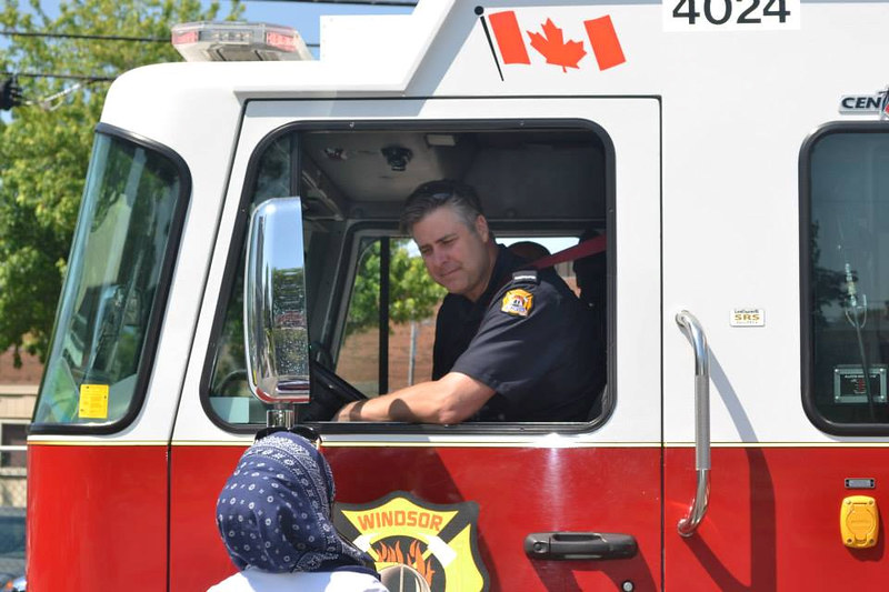Windsor Fire at Windsor Islamic Association Fun Day May 31st, 2014