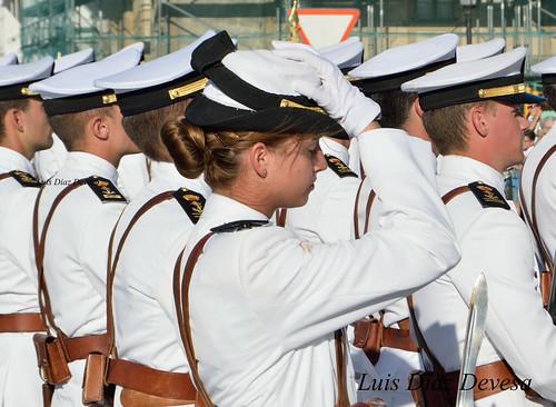 Carril homenajea a la Armada