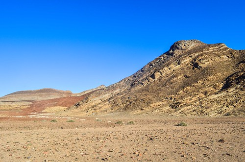 Beautiful rugged landscape of Damaraland in Brandberg West