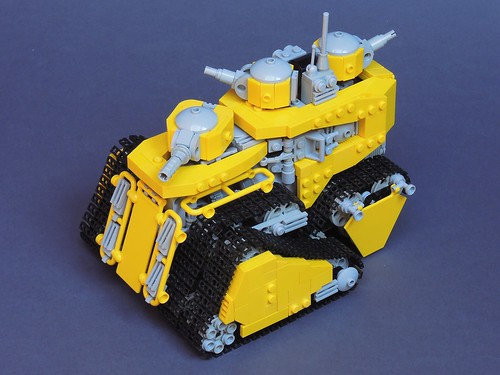 Obnoxiously Yellow Landship