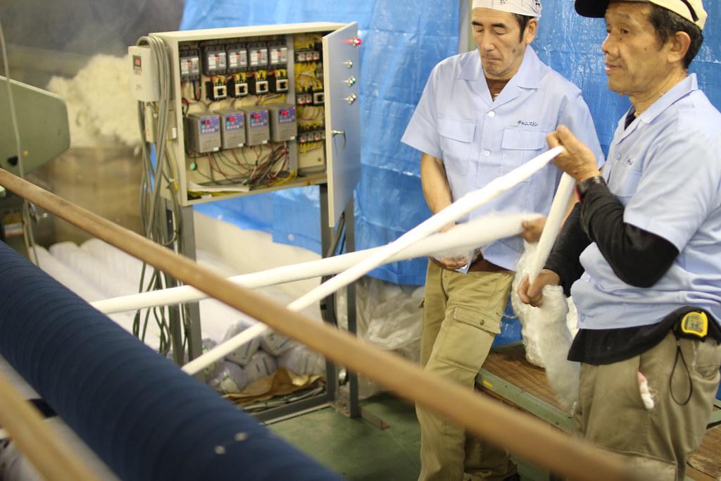 丸三綿業工場見学11