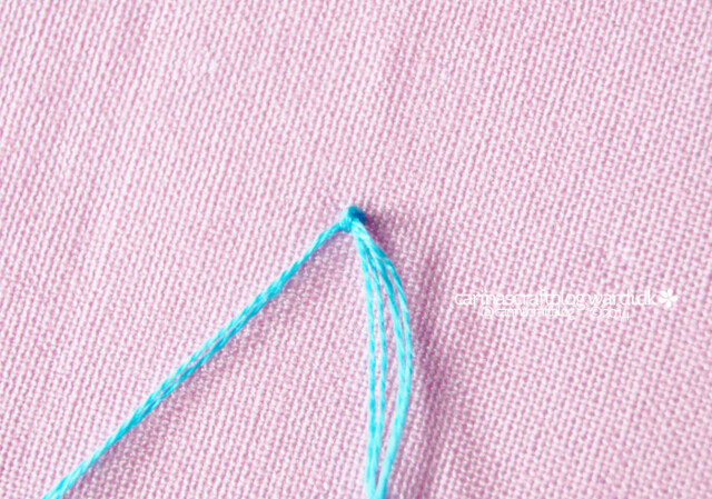 Floss used for french knots перевод в вышивке 97