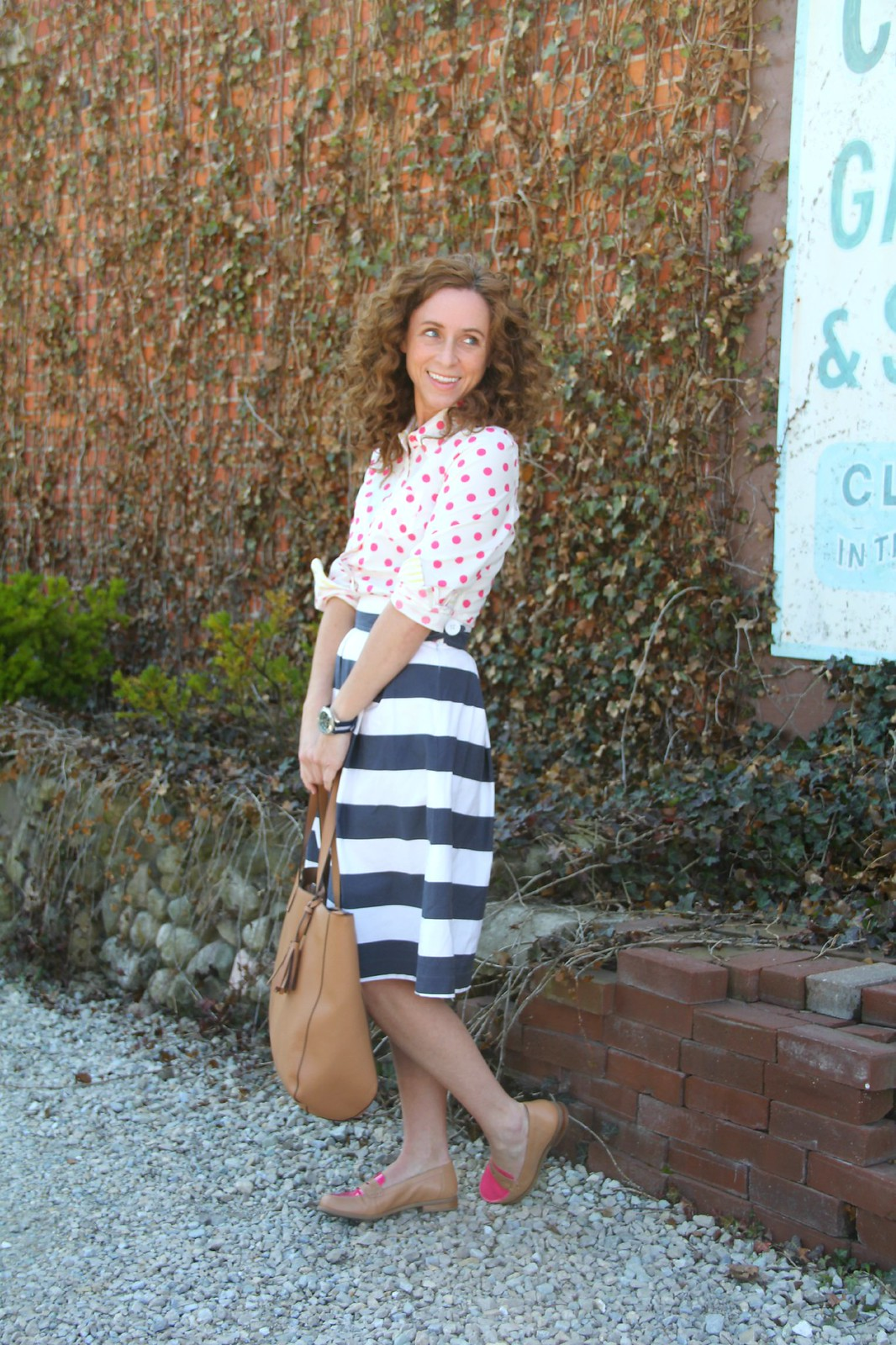 modest summer outfit via Kristina J blog