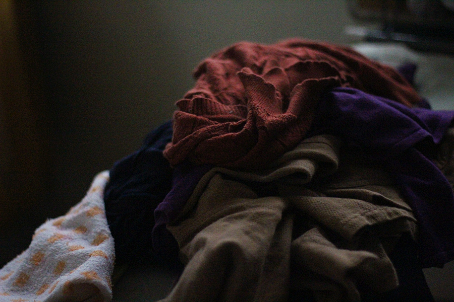 Laundry-pile