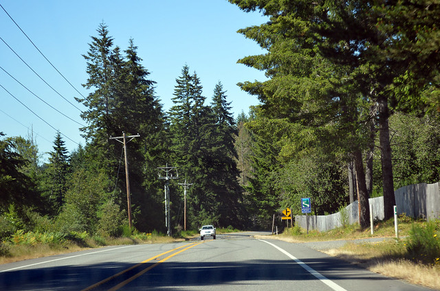 SR 302 on Key Peninsula