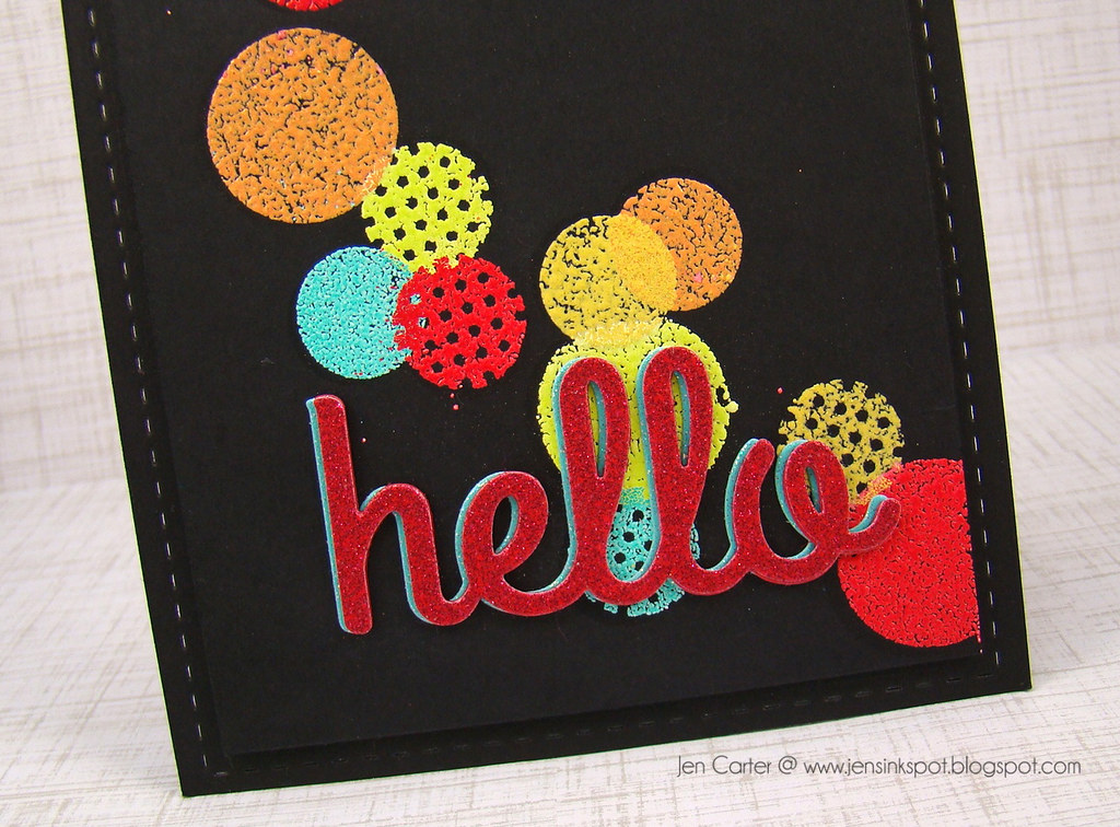 Jen C Hello Dots Closeup 1.4