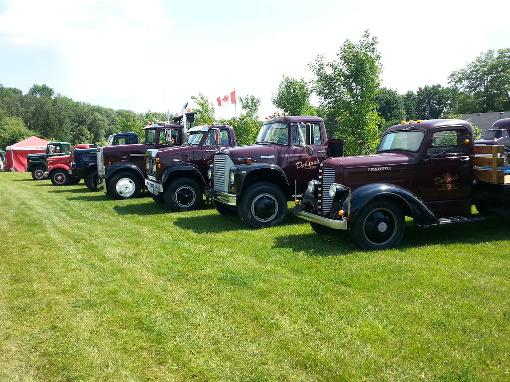 Clifford Antique Classic Truck Show