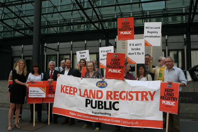 Land Registry petition hand-in