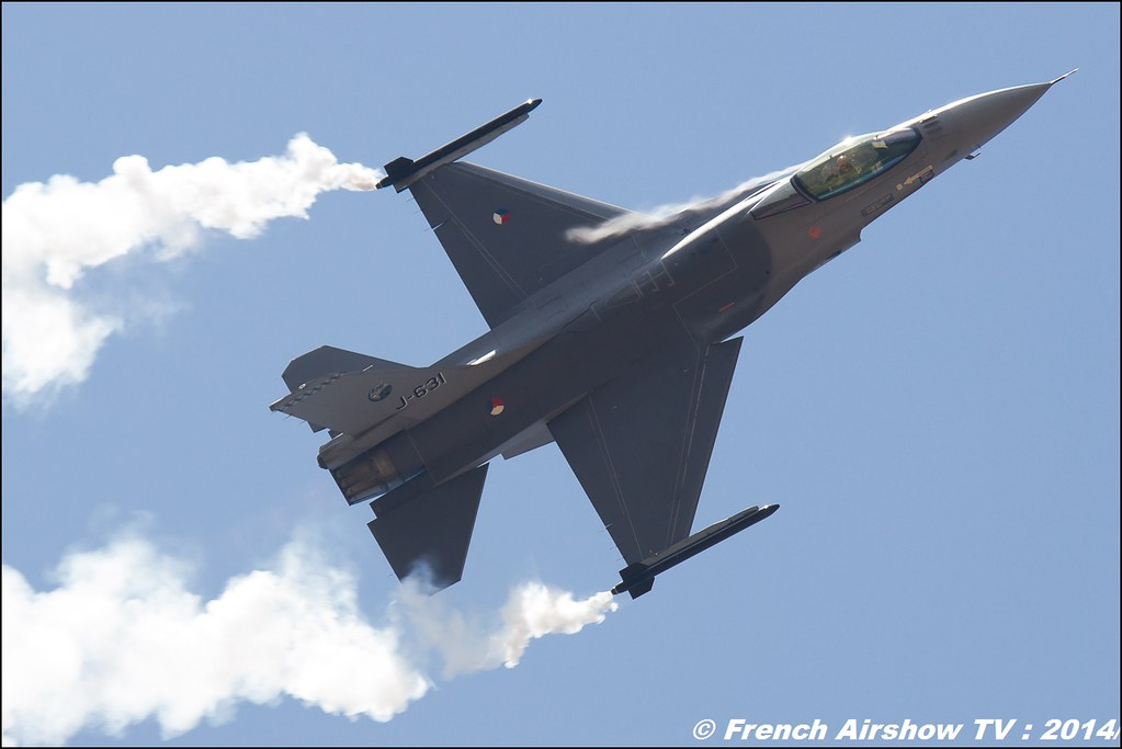F-16 DEMO TEAM RNLAF BA-133 Nancy 2014