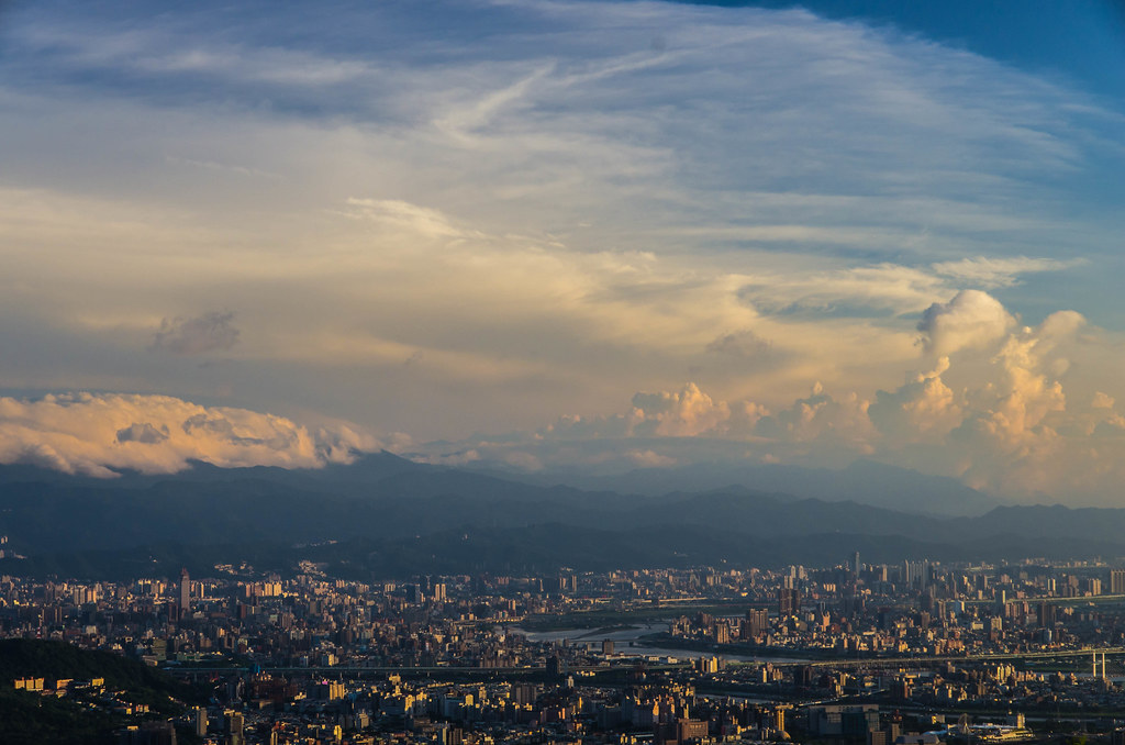 黃昏  台北