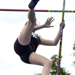 athletics, track and field athletics, sports, pole vault, physical fitness, person,