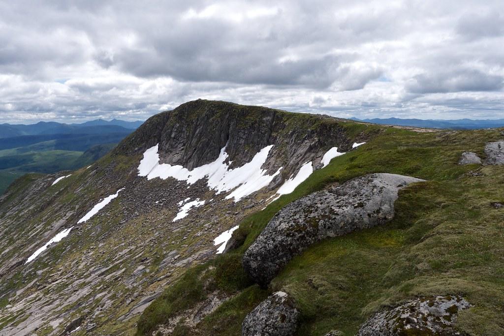 Summit of Stob Coir'an Albannaich