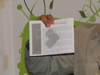 Copia del programma con le promesse del sindaco