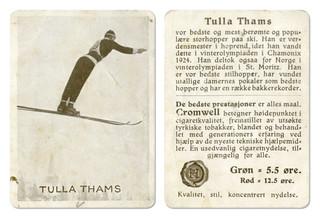 Tulla Thams (1898 - 1954)